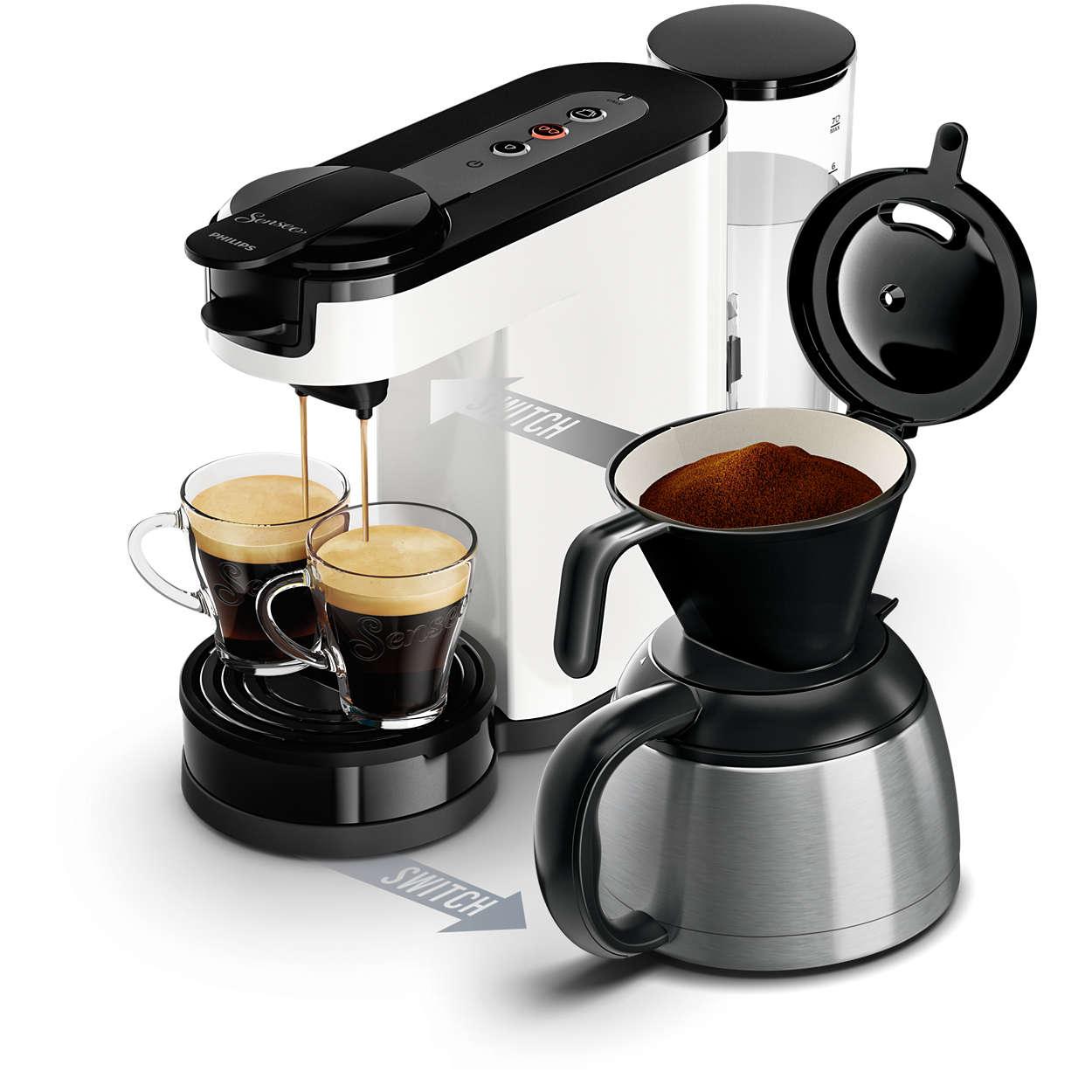 pourquoi choisir une machine caf dosette. Black Bedroom Furniture Sets. Home Design Ideas