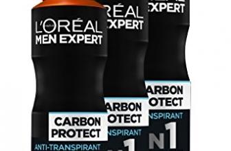 Guide d'achat déodorant anti-transpirant Homme