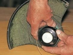 Comment réparer un coupe bordure?