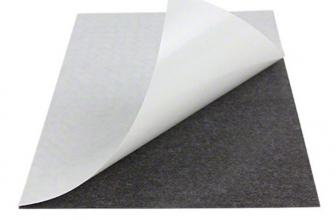 Les caractéristiques de la feuille magnétique adhésive